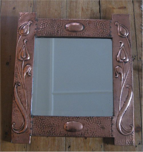 Art Nouveau Wall Mirror | Home design ideas