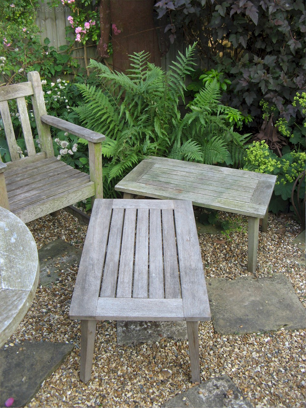 Antiques Atlas Teak Garden Table Made By R A Lister Of Dursley