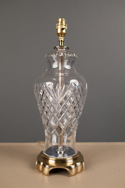 Antiques Atlas Cut Glass Table Lamp