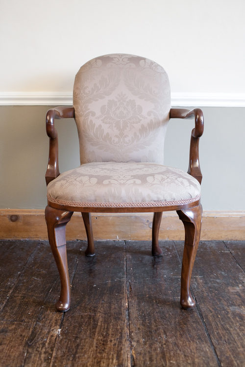 - Early 20th Century Queen Anne Style Elbow Chair - Antiques Atlas