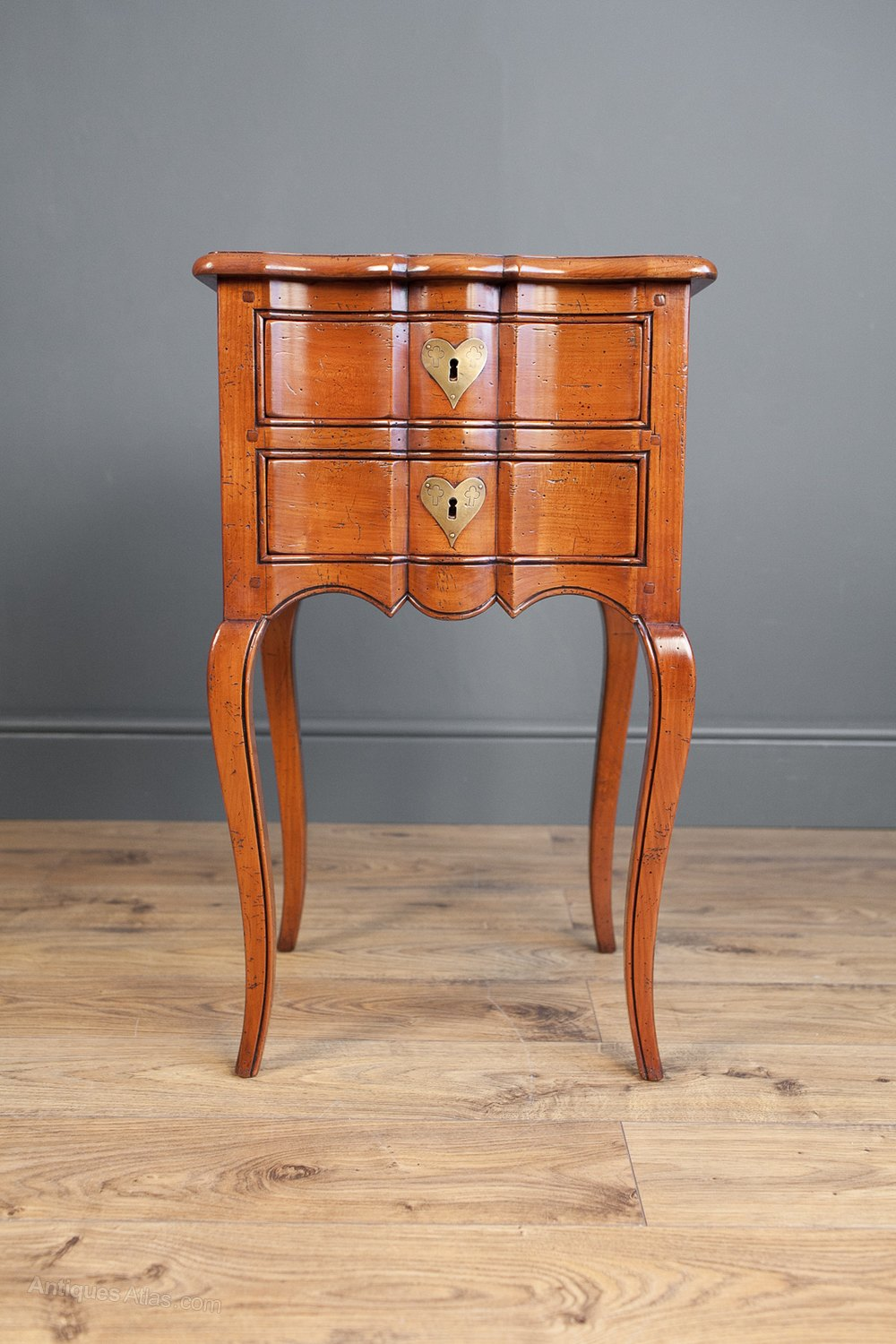 French Fruitwood Side Table