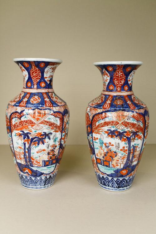 Antiques Atlas Pair Of Japanese Imari Vases
