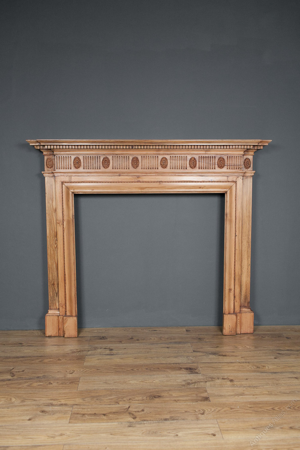 Antiques Atlas - Pine Fire Surround