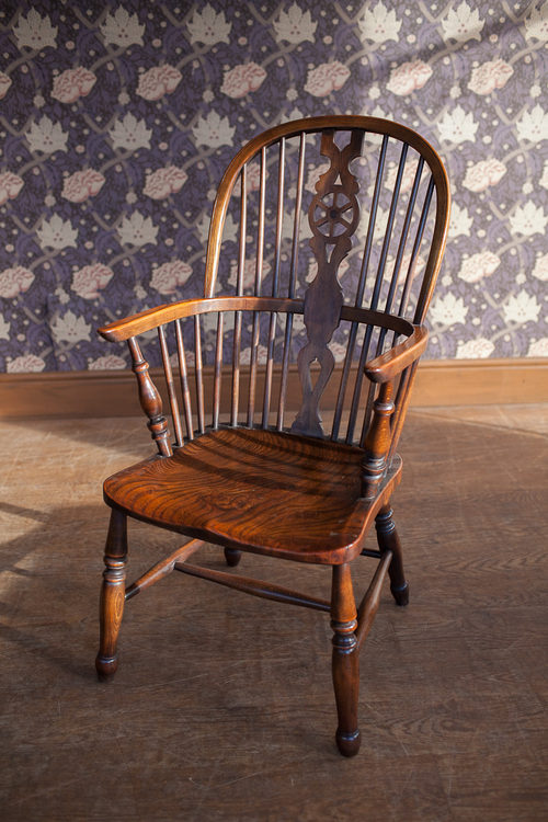 Antiques Atlas Windsor Wheel Back Arm Chair