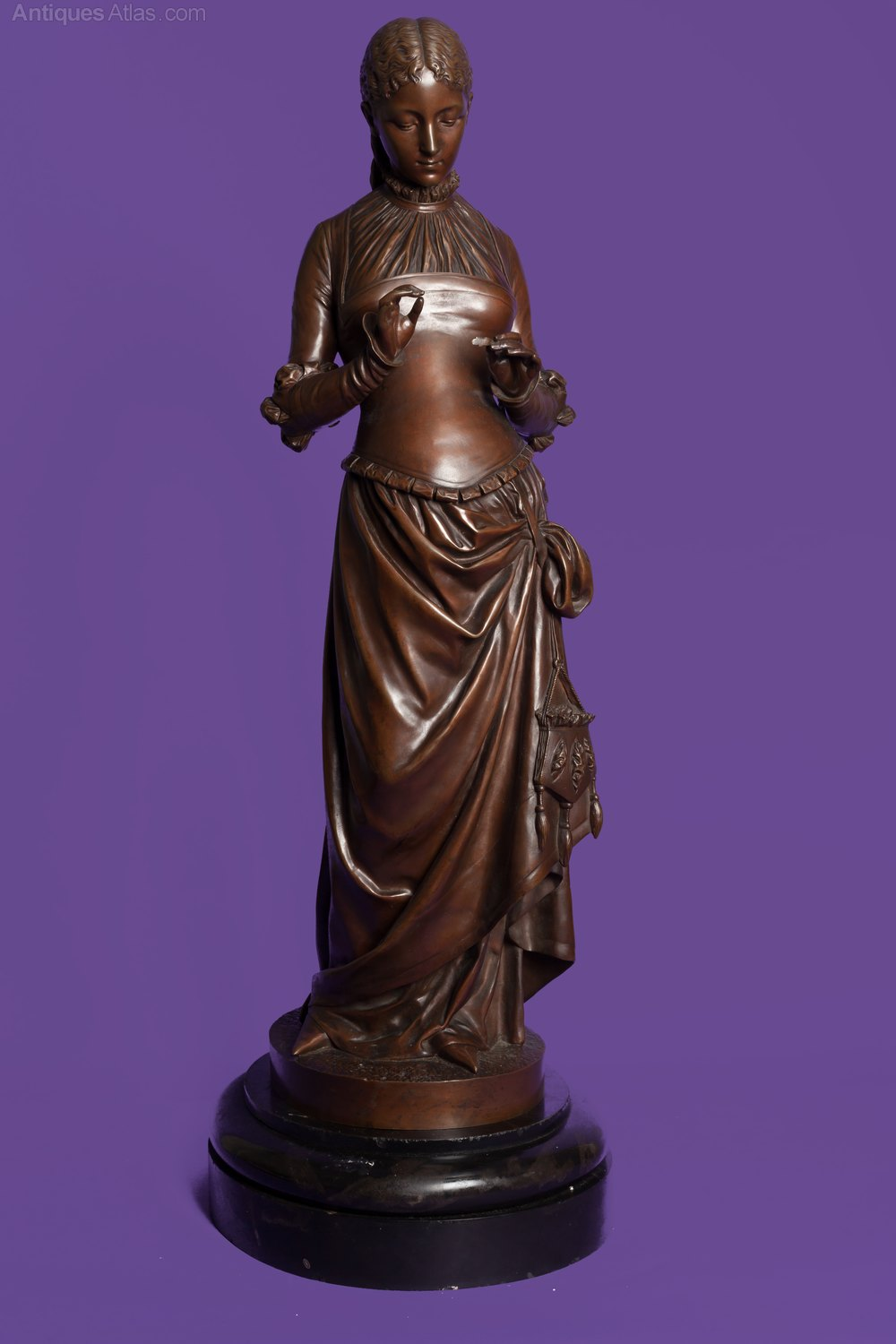 Sold Price: Monumental French Bronze Sculpture After
