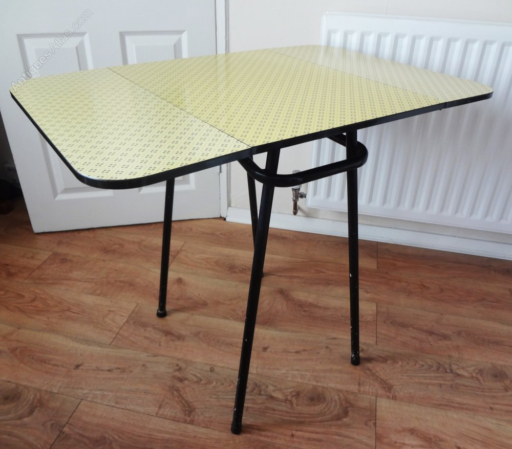 antiques atlas 1950s retro formica kitchen table. Black Bedroom Furniture Sets. Home Design Ideas