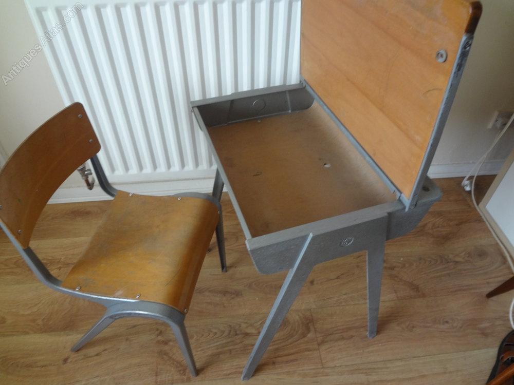 Childs School Desk Chair Vintage And Retro Desks