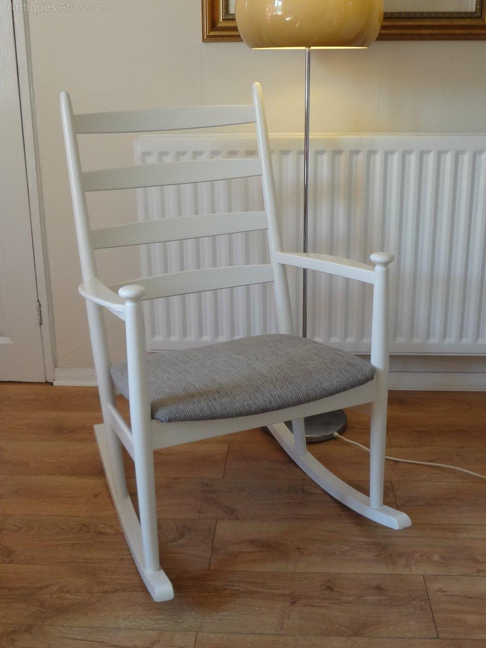 Antiques Atlas Danish Rocking Chair Mid Century