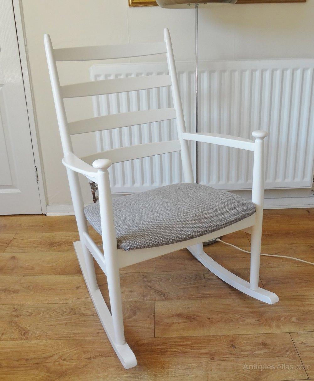 Image of: Antiques Atlas Danish Rocking Chair Mid Century