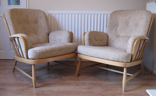 Antiques Atlas Ercol Armchairs