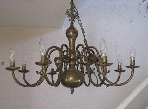 Flemish Chandelier Dutch Light