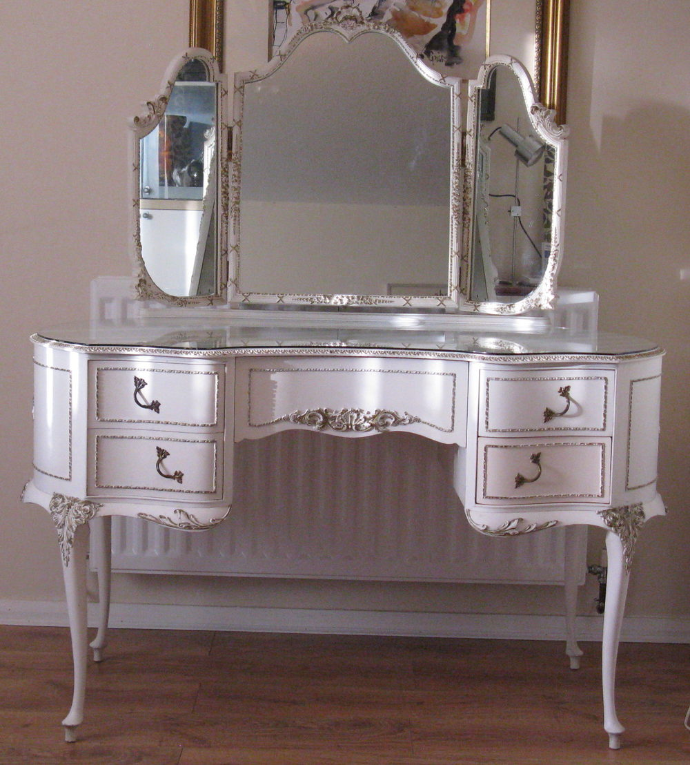 French Louis Dressing Table Midcentury Retro And Vintage Tables