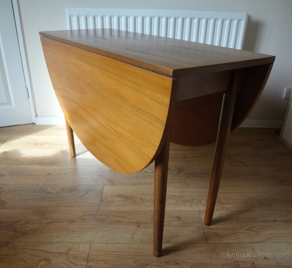 G Plan 1960s Teak Drop Leaf Table