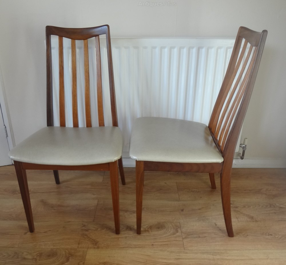 Antiques atlas g plan 1970s teak dining chairs for G plan dining room furniture sale