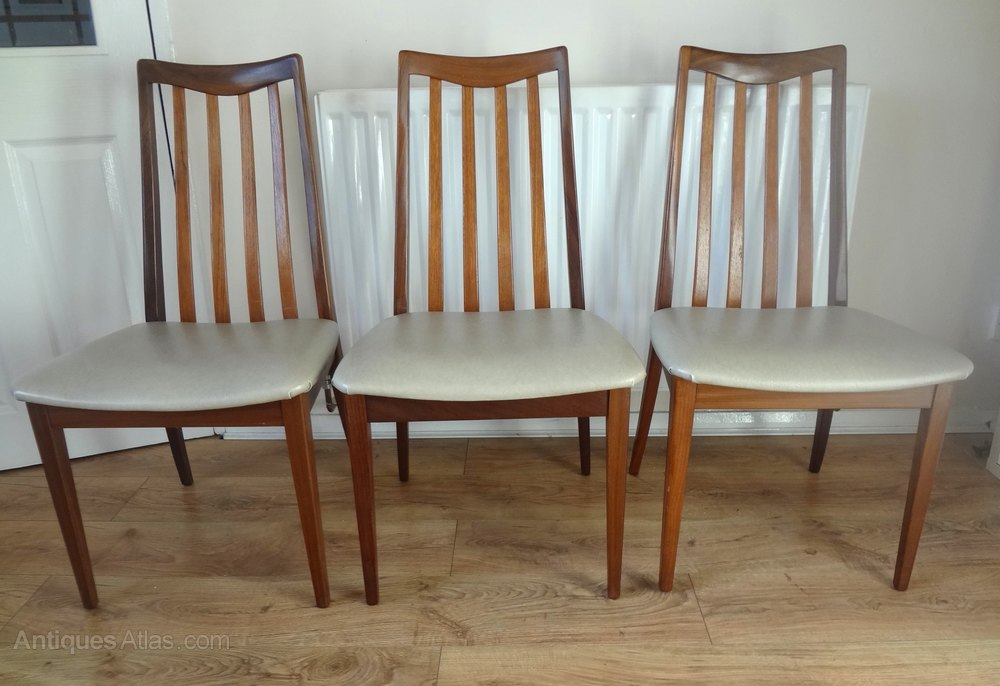 G Plan 1970s Teak Dining Chairs