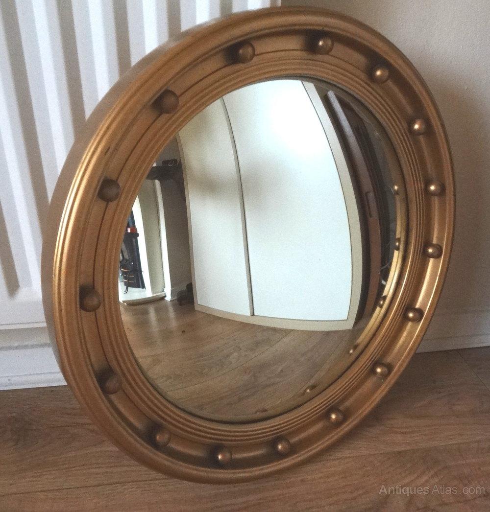Vintage convex round mirror round designs convex wall mirror gallery home decoration ideas amipublicfo Gallery