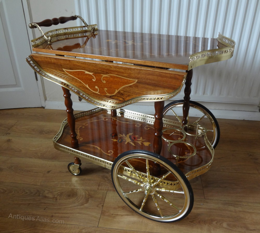 Antiques Atlas Italian Drinks Trolley Table