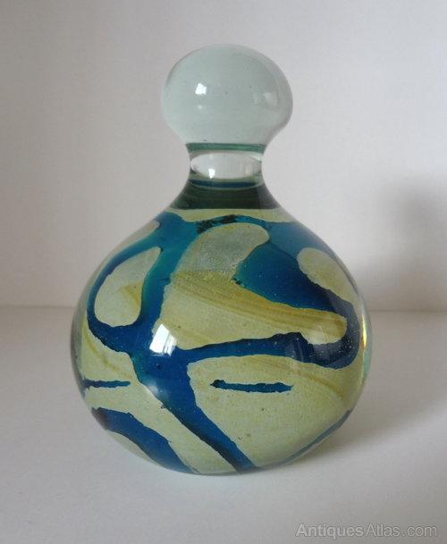 Antiques Atlas Mdina Glass Dump Paperweight