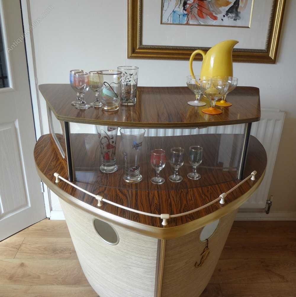 Mid Century Boat Cocktail Bar Vintage And Retro Bars And Cocktail Bars ...