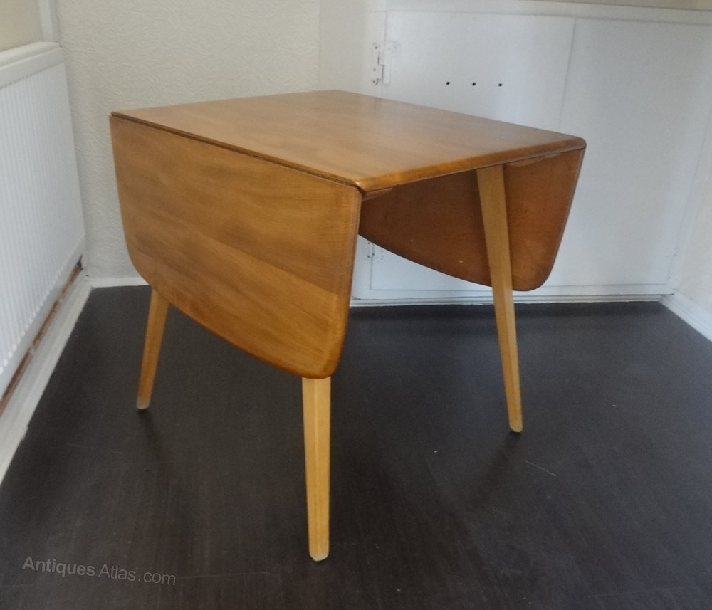 Ercol Drop Leaf Plank Table 1960 S