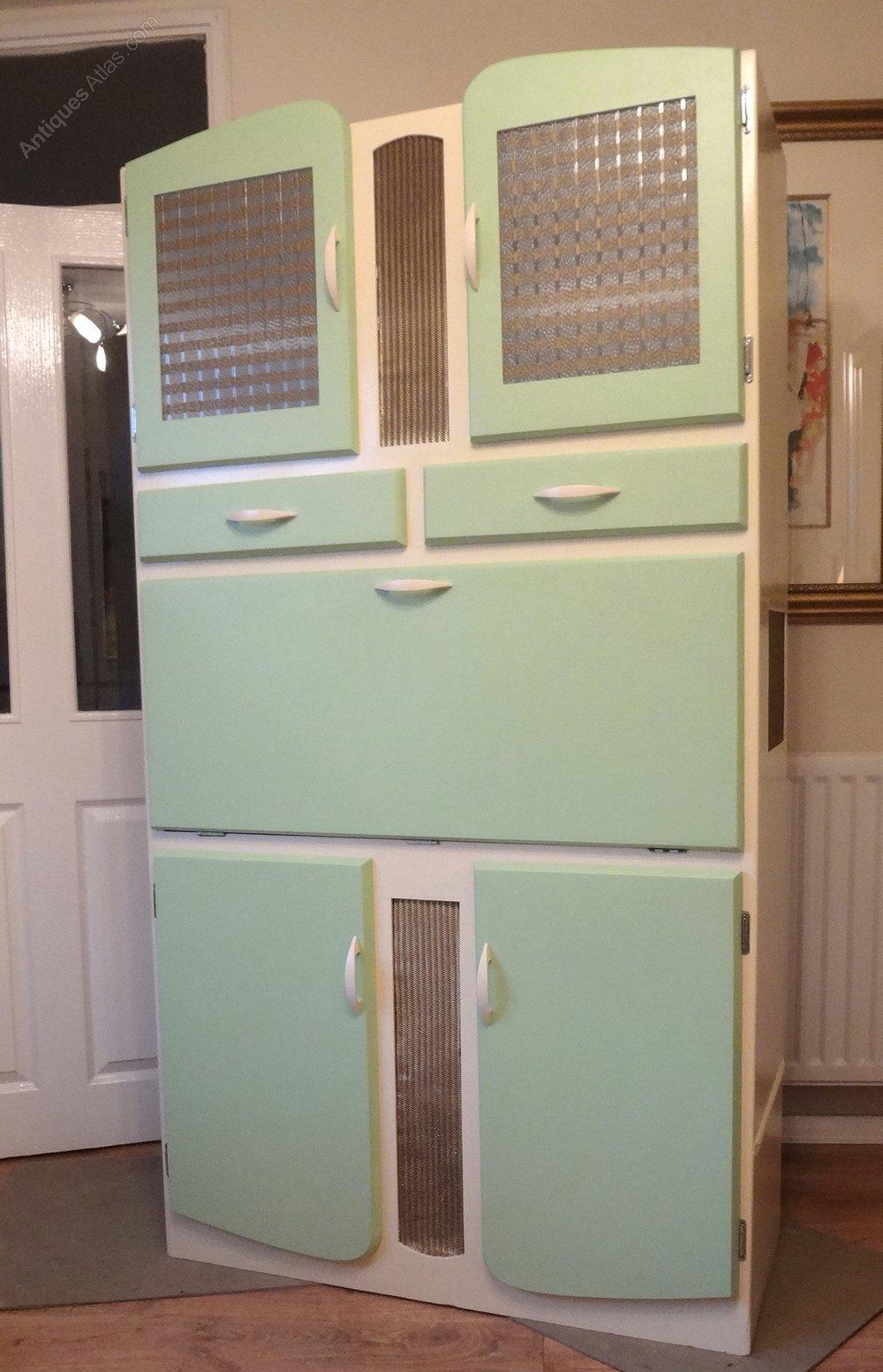 Mid Century Retro Kitchen Larder Cabinet Kitchenettes