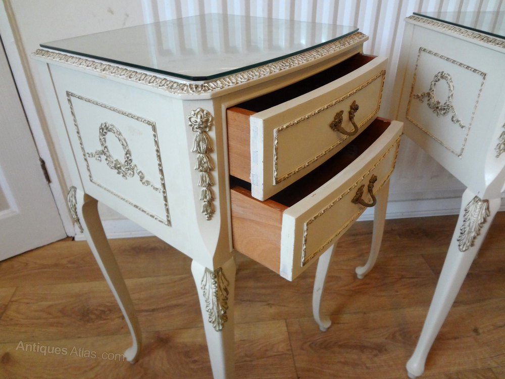 Antiques Atlas Olympus Louis Bedside Tables