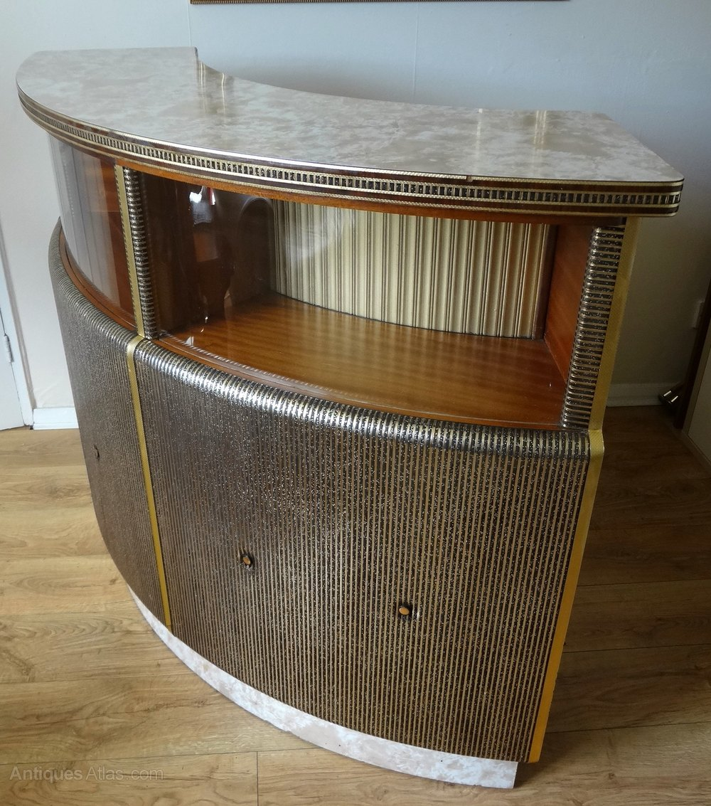 Antiques atlas retro 1950s home cocktail bar for Retro home