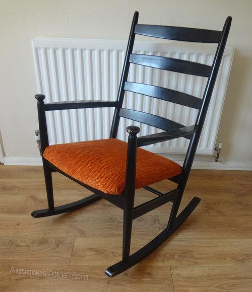 Retro Danish Rocking Chair ... - Antiques Atlas - Retro Danish Rocking Chair