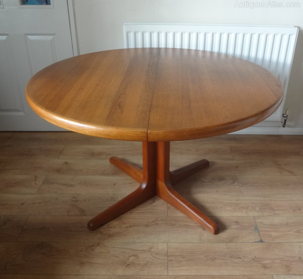Antiques Atlas - Retro Danish Teak Dining Table By ...