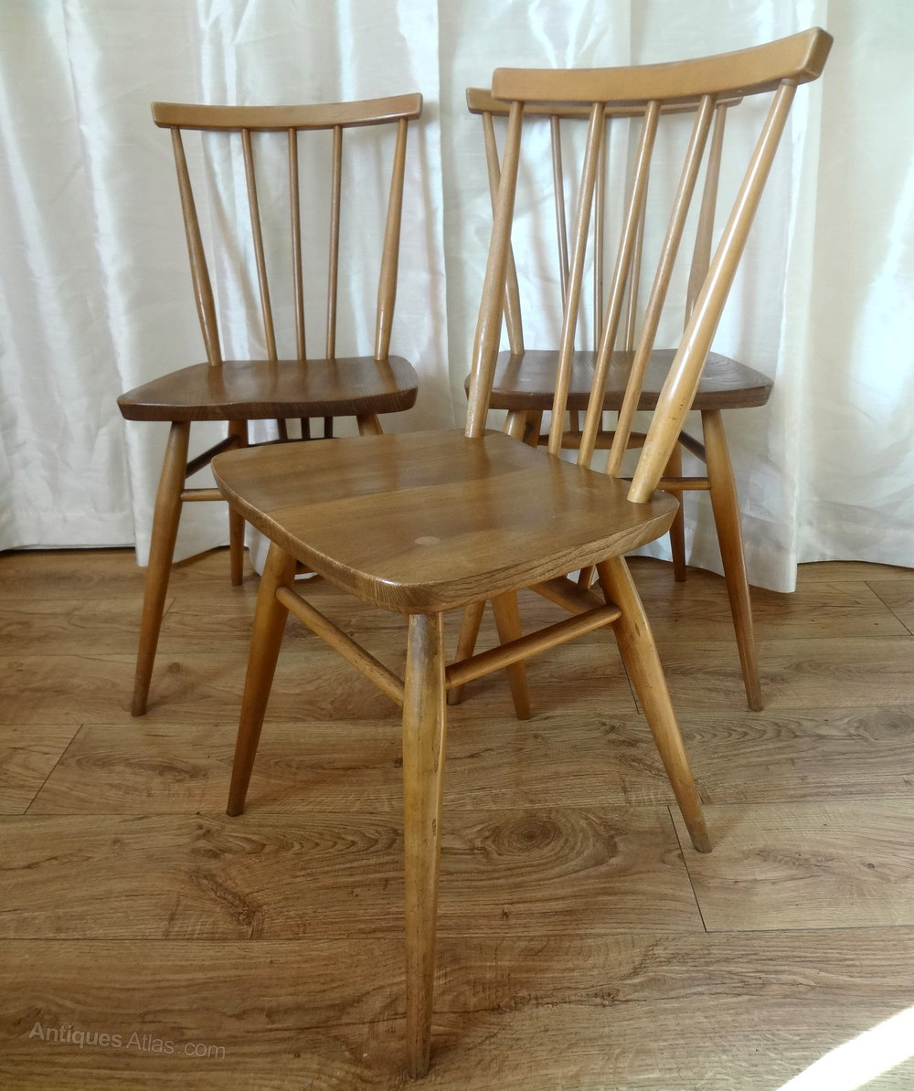 Antique Windsor Chairs Dining: Retro Ercol Windsor Dining Chairs