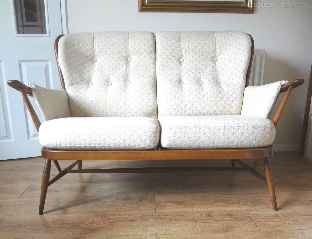 Antiques Atlas Retro Ercol Windsor Golden Dawn Sofa