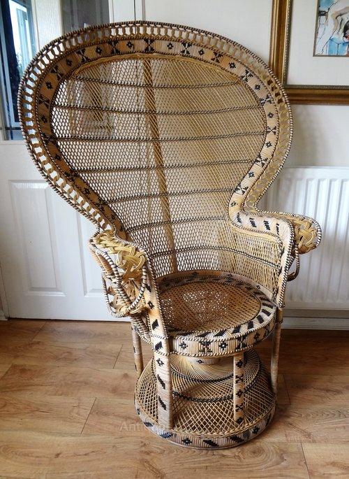 Antiques Atlas Retro Vintage Peacock Chair