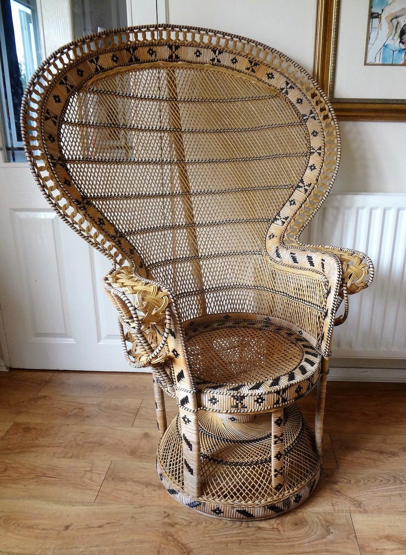 antiques atlas retro vintage peacock chair. Black Bedroom Furniture Sets. Home Design Ideas