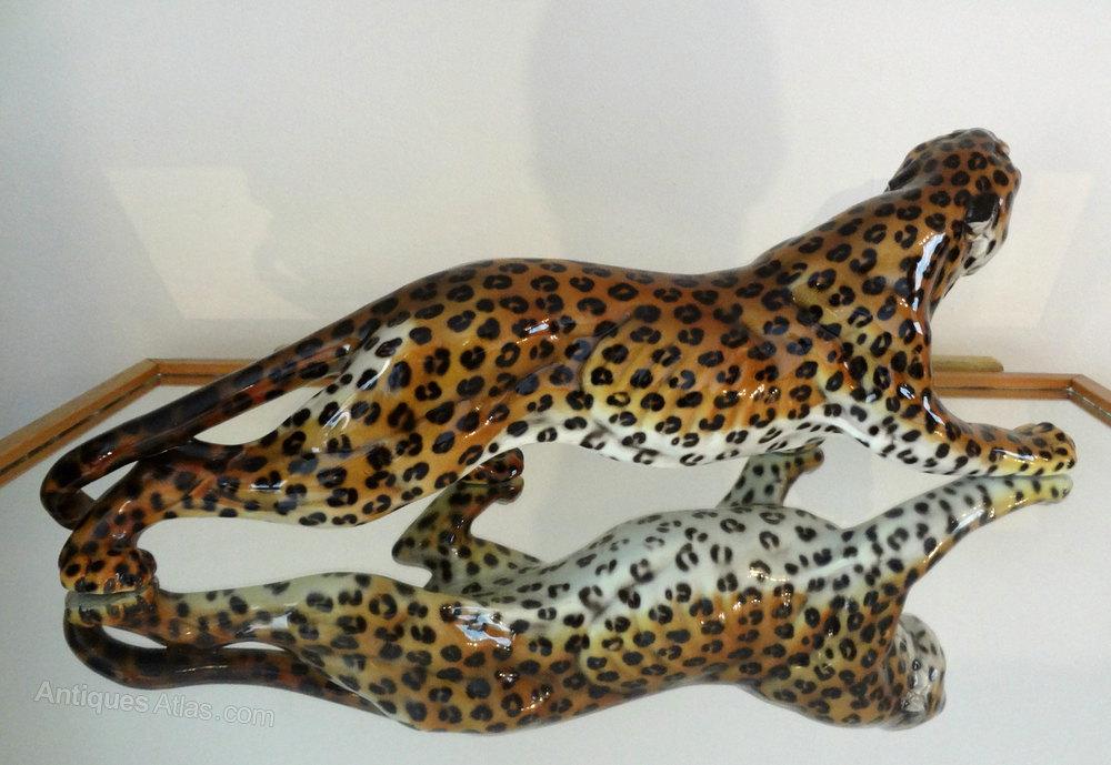 Antiques Atlas Ronzan Lenci Leopard