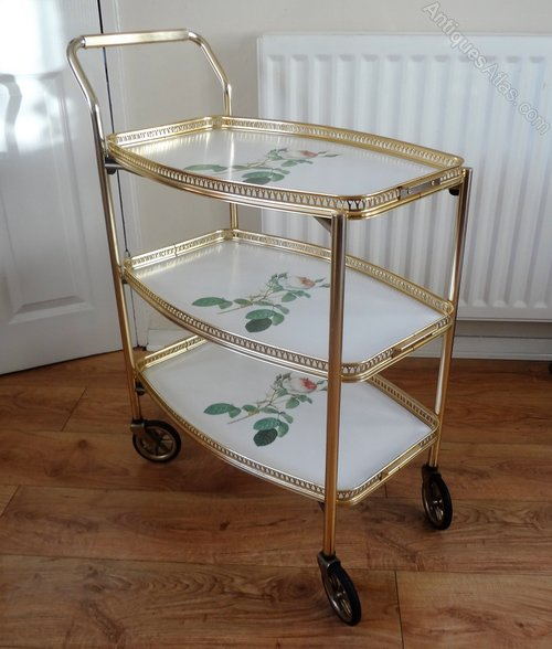 Antiques Atlas - Vintage Drinks Tea Trolley