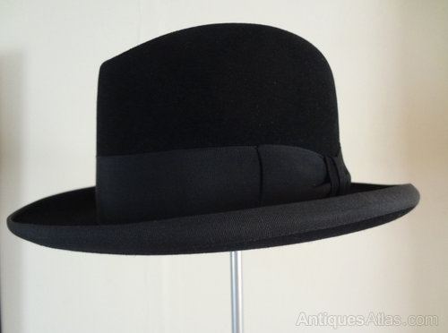 Antiques Atlas - Vintage Homburg Hat b3c621d75fb