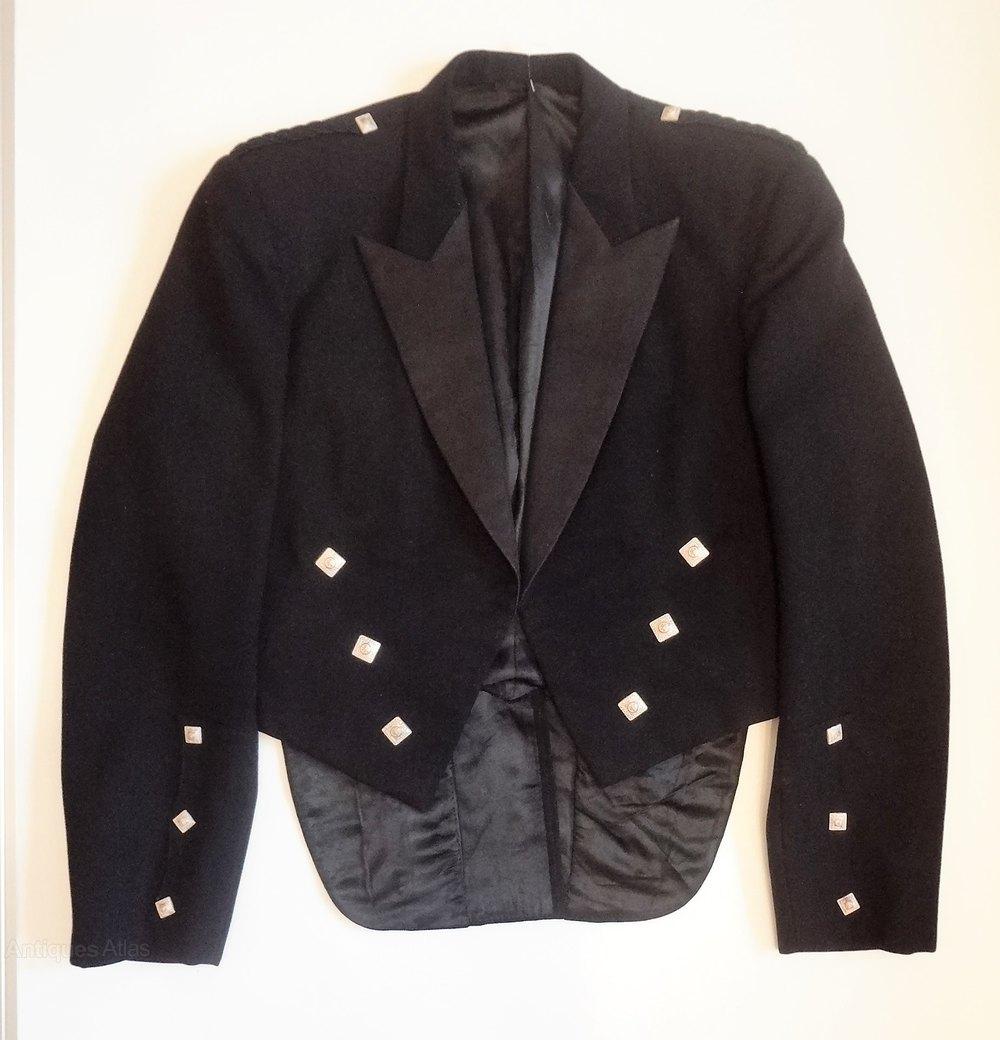 Antiques Atlas Vintage Scottish Highland Dress Kilt Jacket
