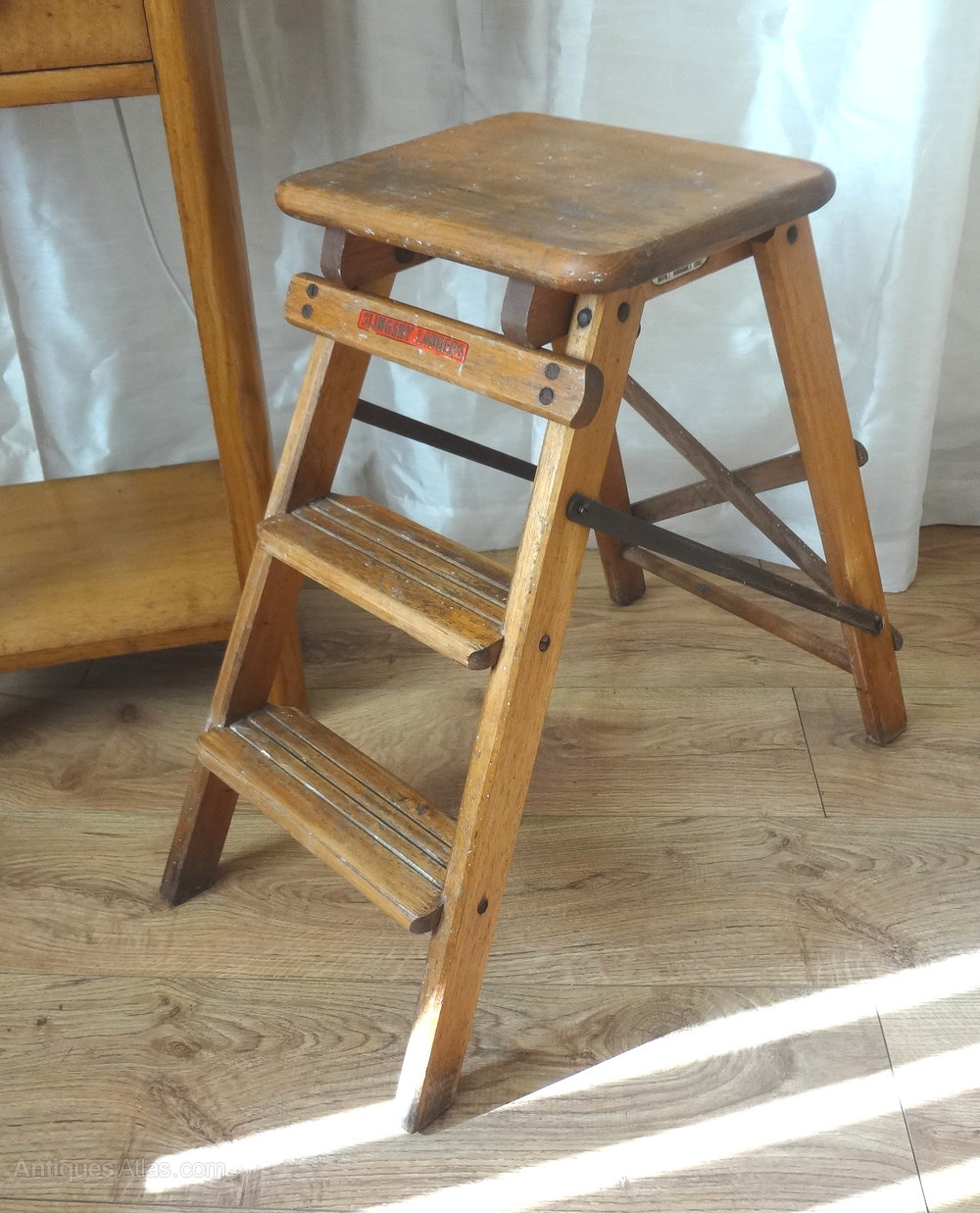 Superb Vintage Slingsby Step Ladder Antiques Atlas Gmtry Best Dining Table And Chair Ideas Images Gmtryco