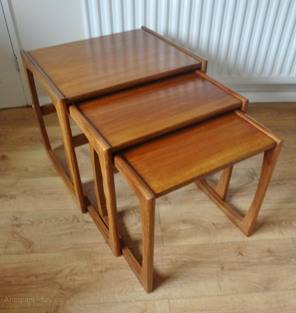 Vintage Teak Nest Of Coffee Tables By G Plan