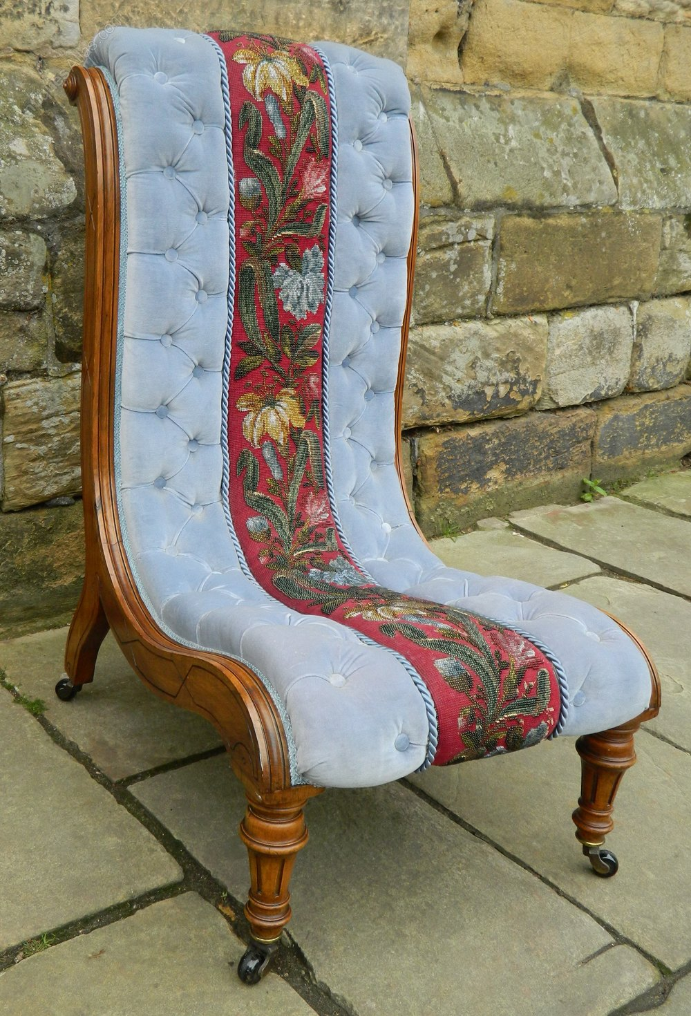 Victorian Slipper Chair Antique Slipper Chairs ... - Victorian Slipper Chair - Antiques Atlas