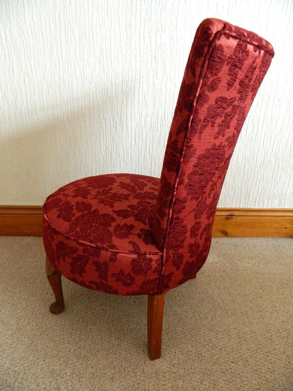 Boudoir / Bedroom Chair - Antiques Atlas