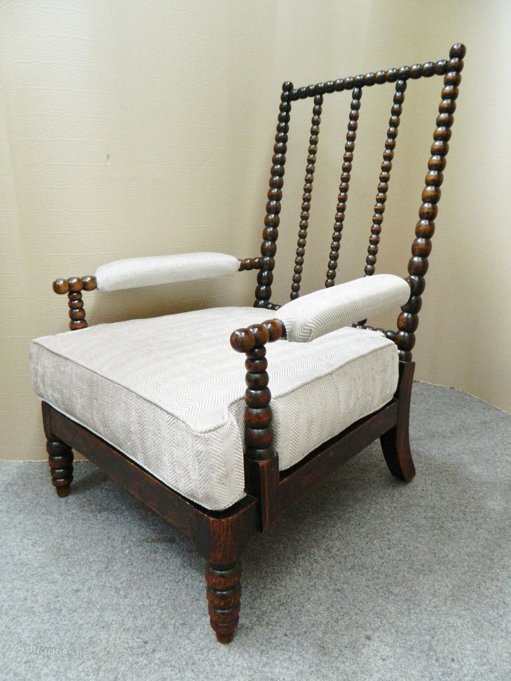 Oak Bobbin Chair Antiques Atlas