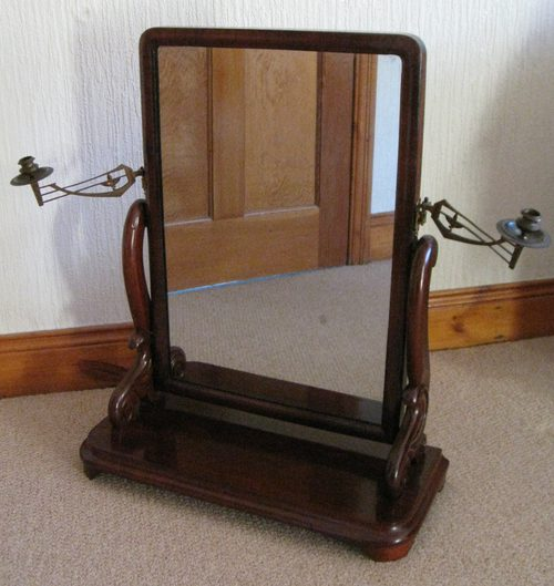 - Antiques Atlas - William Iv Mahogany Dressing Table Mirror