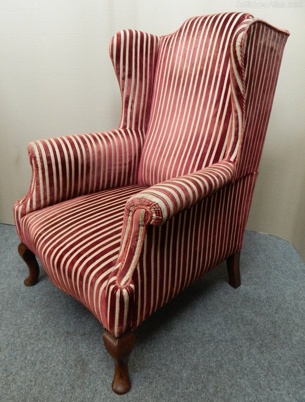 Wing Back Armchair Antiques Atlas