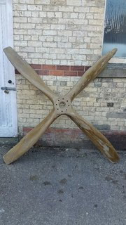 Antiques Atlas - WW1 RAF RFC WOODEN FOUR BLADE PROPELLER