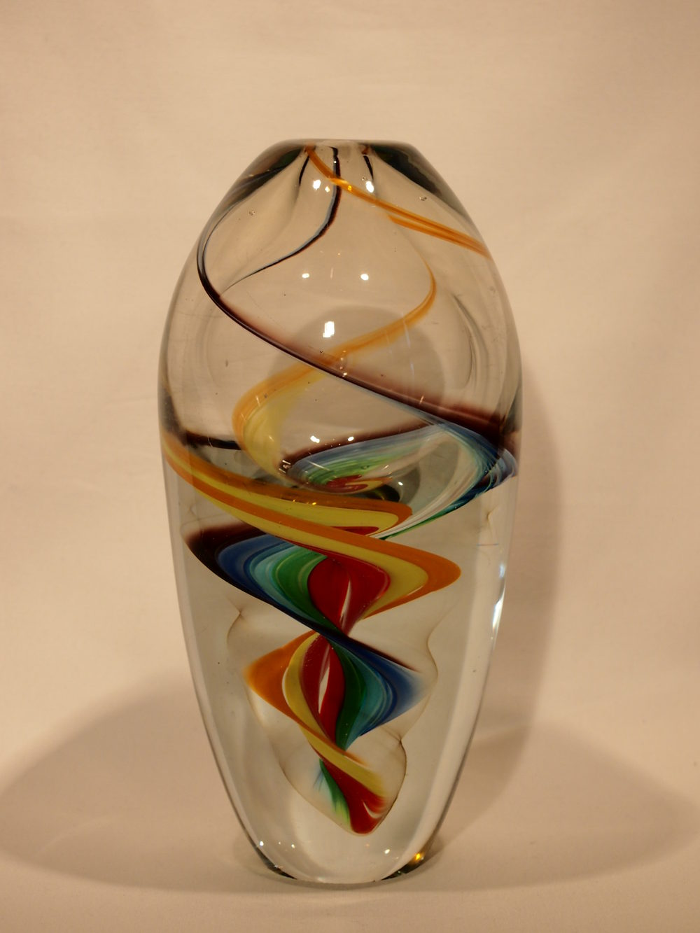 Antiques atlas murano art glass vase multi colour swirl twist murano art glass vase multi colour swirl twist reviewsmspy