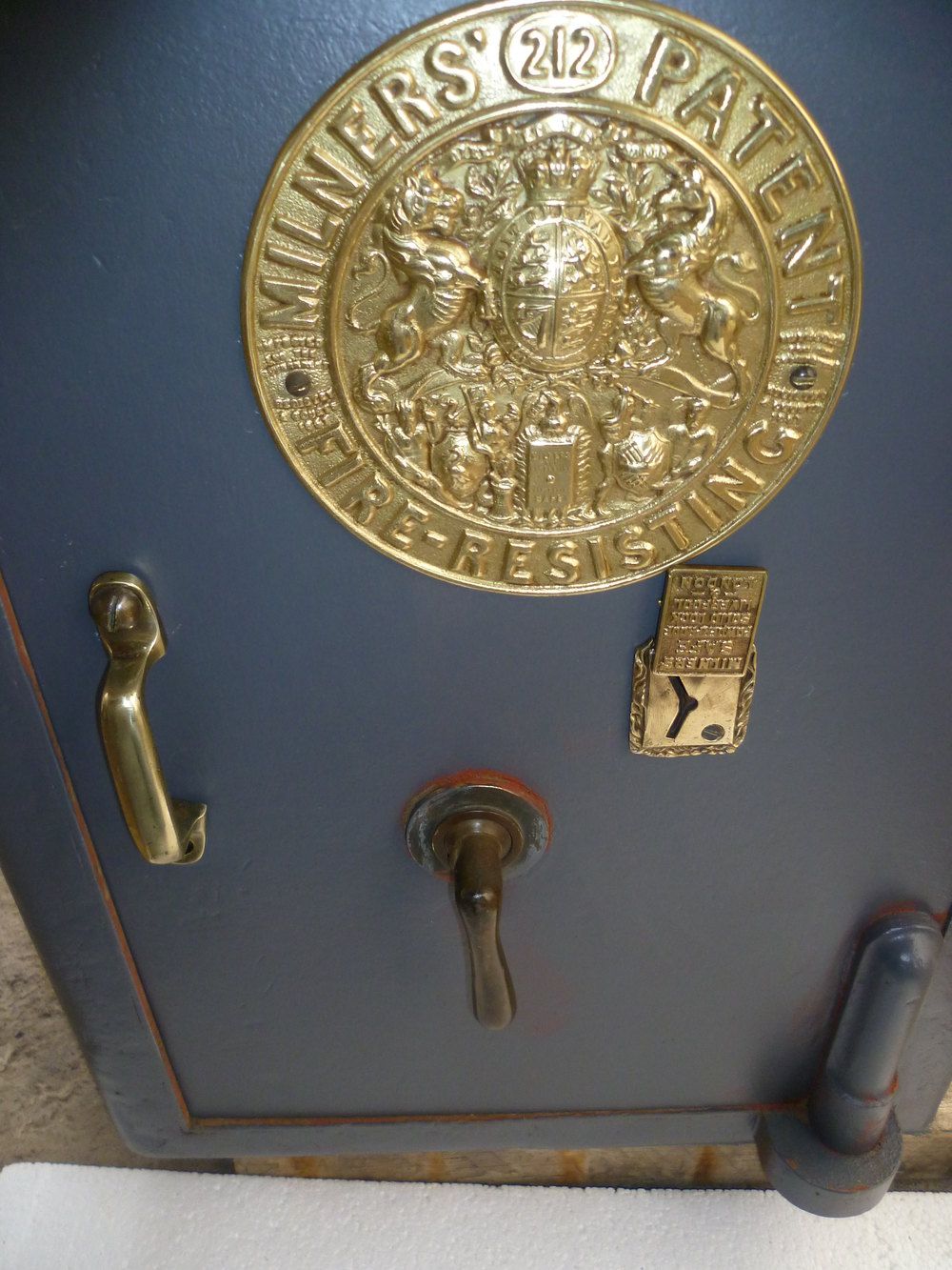Antiques Atlas - A Victorian Cast Iron Safe By Milners Of ...