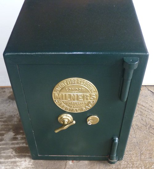 Antiques Atlas - A Victorian Cast Iron Safe By Milners Of London