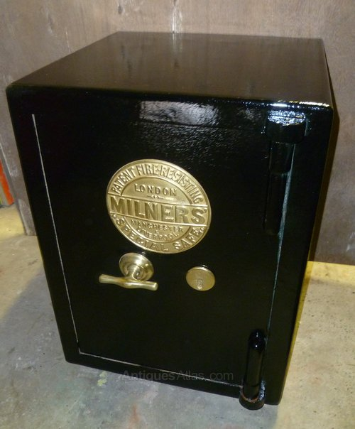 Antiques Atlas A Victorian Cast Iron Safe By Milners Of