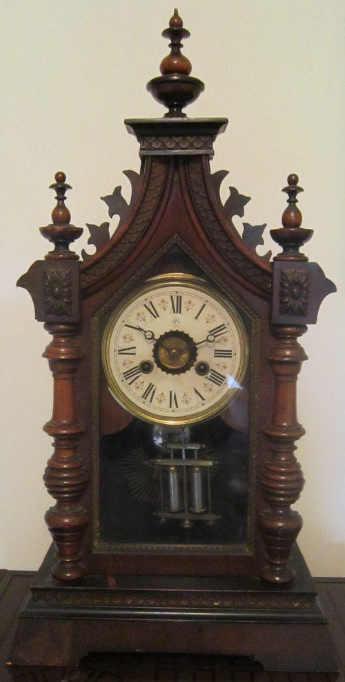 antiques atlas late victorian junghans gothic mantle clock